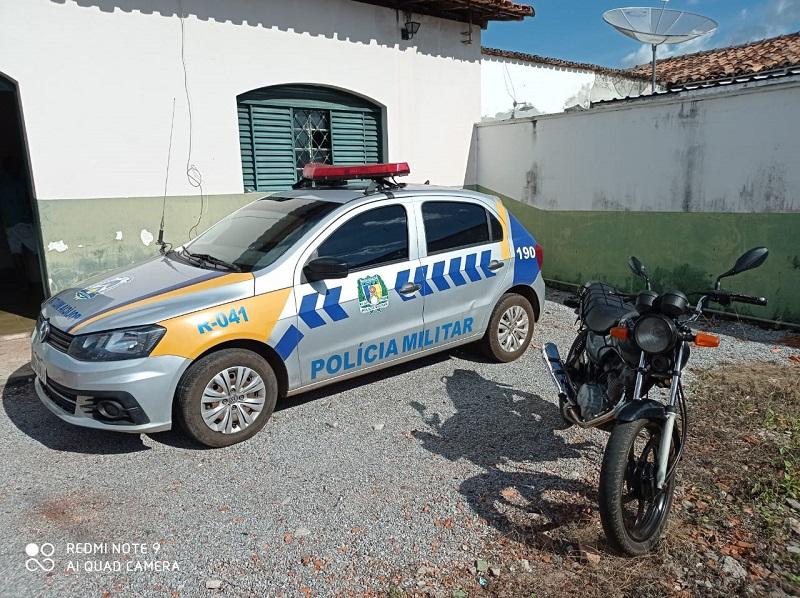4ª CIPM recupera veículo roubado, em Cristalândia