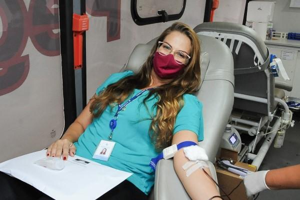 """""""Parceiros pela Vida"""": campanha de doação de sangue será permanente entre integrantes de instituições"""