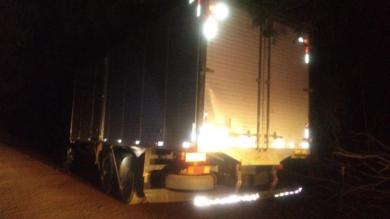 4ª CIPM recupera em Fátima caminhão roubado poucas horas após o crime