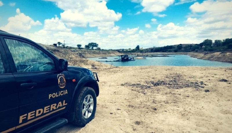 PF faz operação contra garimpo ilegal em reserva indígena na Amazônia