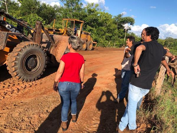 Prefeitura de Goianorte intensifica obras e amplia frentes de trabalho para recuperação de estradas vicinais