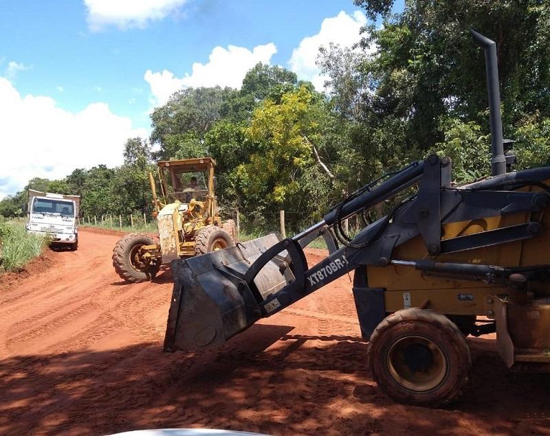 Prefeitura de Gurupi inicia reocupação de estradas da zona rural