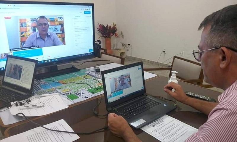 Governador Carlesse determina liberação de R$ 4 mi em crédito em apoio a produtores de leite do Tocantins