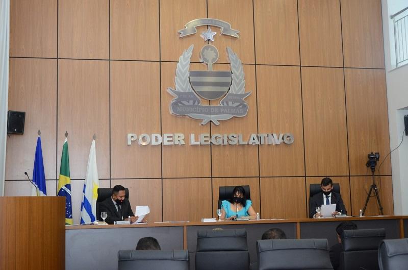 Câmara de Palmas designa vereadores para comissões permanentes e elege presidentes e vices
