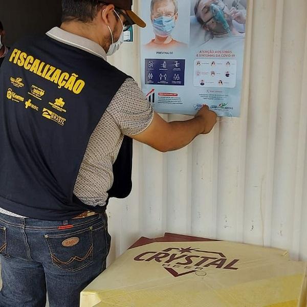 Secretaria de Saúde de Cariri inicia ação para identificar casos de Covid-19 na população