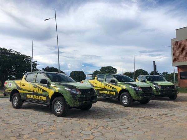 Frota do Naturatins recebe reforço para fiscalização de parques