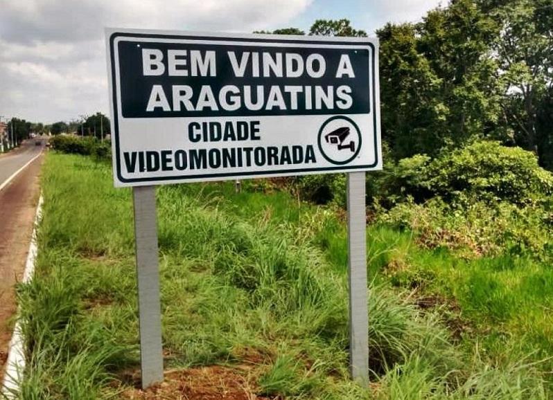 Com auxilio de videomonitoramento, PM prende homem por furto e recupera objeto em Araguatins