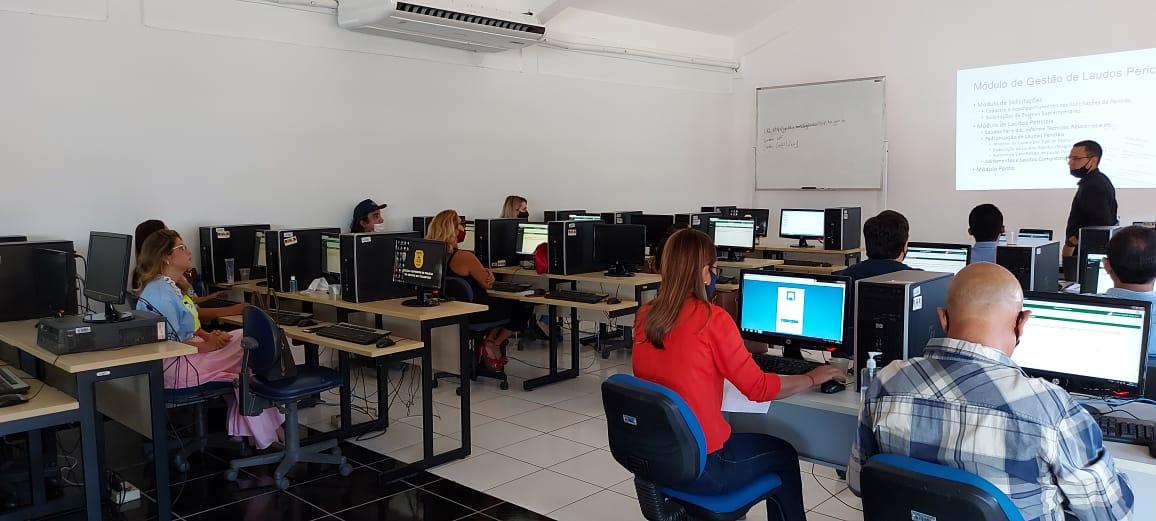 Polícia Científica do Tocantins capacita servidores para uso de sistema que dará mais agilidade ao trabalho pericial