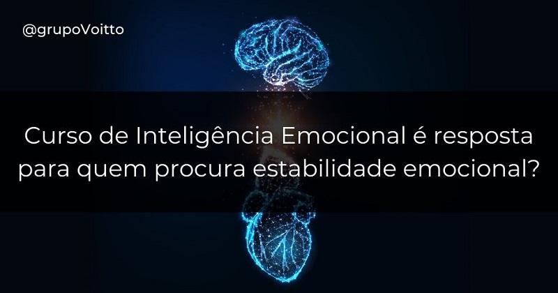 Curso de Inteligência Emocional é resposta para quem procura estabilidade emocional