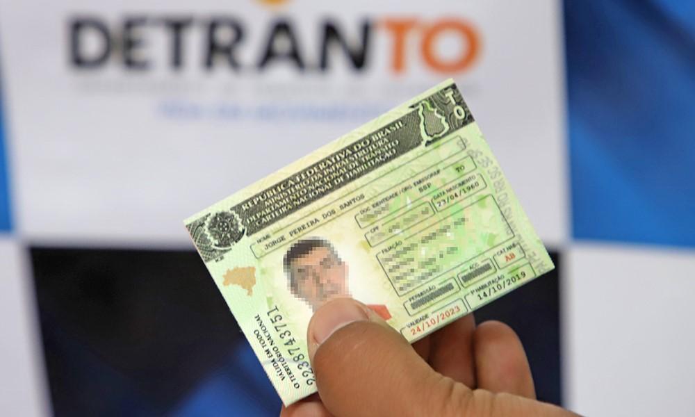 Detran-TO prorroga prazos para regularização de CNH