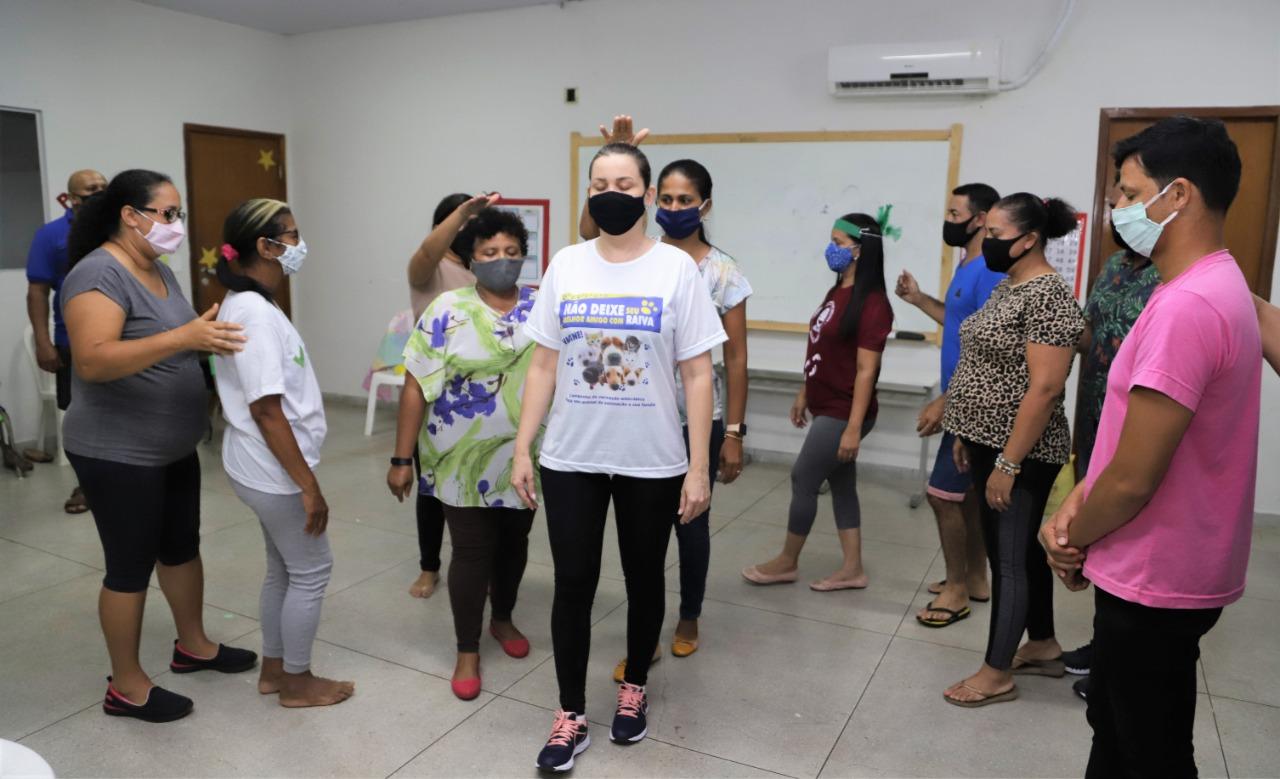 Servidores de Araguaína participam de oficinas de teatro para potencializar trabalho educativo nas escolas