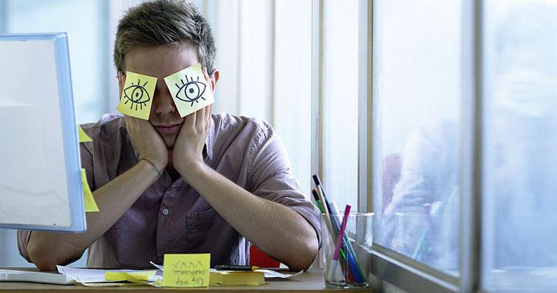 Se você dormir mal, seu trabalho não vai render!