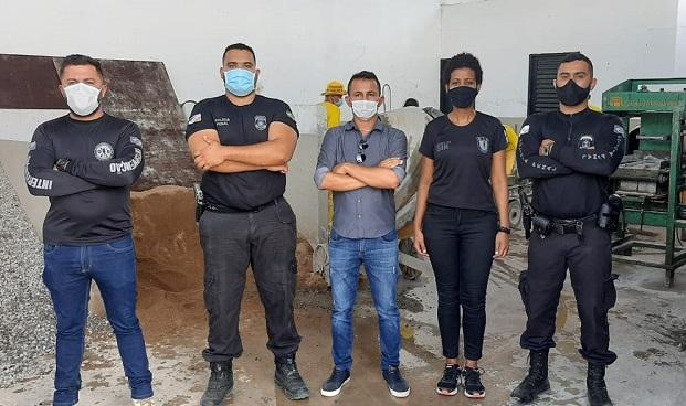 Unidade Penal de Barrolândia terá primeira fábrica de artefatos de concreto via parceria público-privada