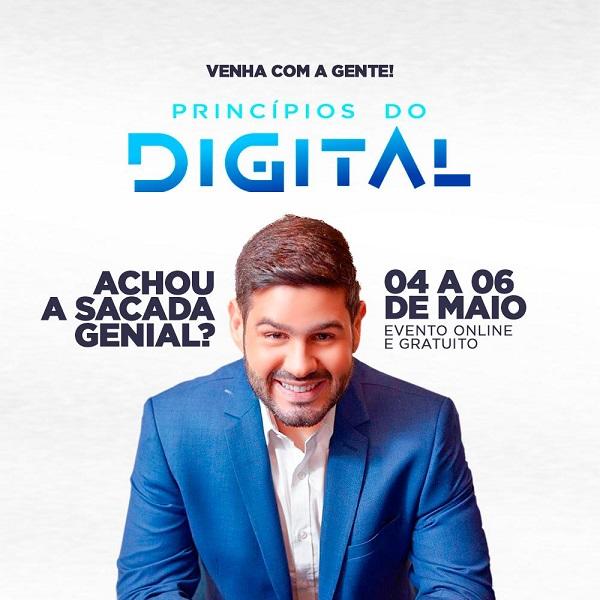 Evento Online gratuito: Princípios do Digital com Alex Monteiro será realizado em maio