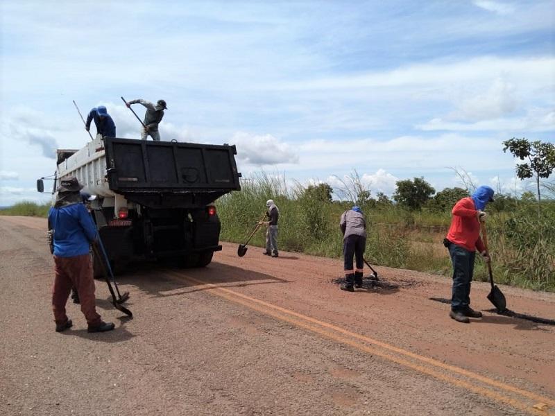 Ageto realiza recuperação e manutenção de rodovias no Vale do Araguaia
