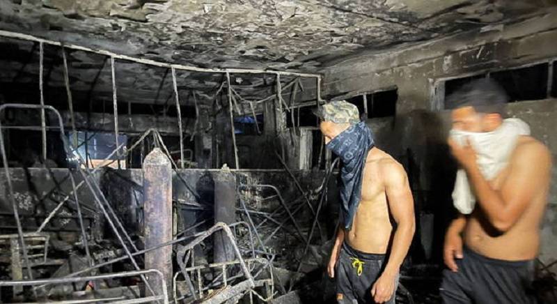 Incêndio mata mais de 80 pessoas em hospital para covid no Iraque