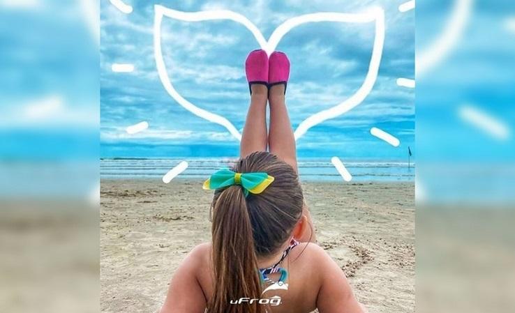 40 Graus traz tendências para moda praia infantil com peças 'Mãe e Filha', em Paraíso