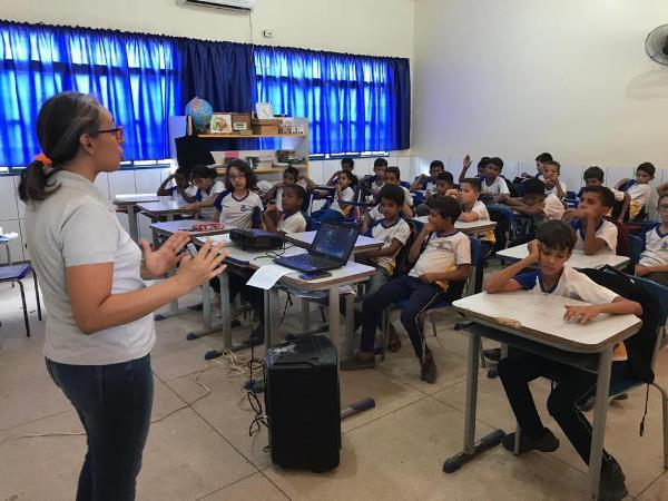 Iniciativa de professora da Escola Estadual Fazenda Dezesseis, em Augustinópolis, será apresentada em seminário da Editora Moderna
