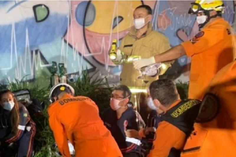 Pai e filho morrem eletrocutados enquanto colhiam abacates no DF