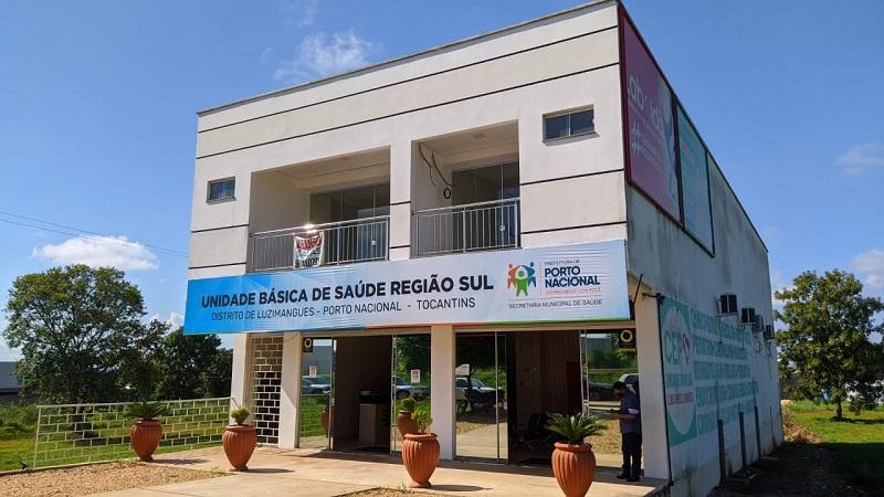 Prefeitura de Porto Nacional entrega Unidade Básica de Saúde para a comunidade de Luzimangues