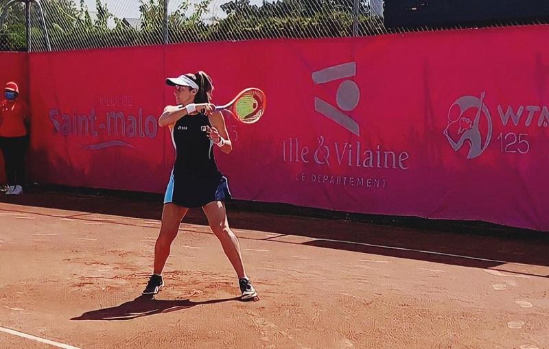 Luisa Stefani estreia em simples no WTA 125 de Saint Malo, na França