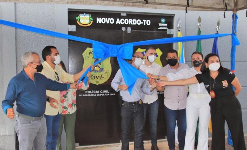 Governo do Estado e Secretaria da Segurança Pública entregam Núcleos de Identificação em Crixás e Novo Acordo