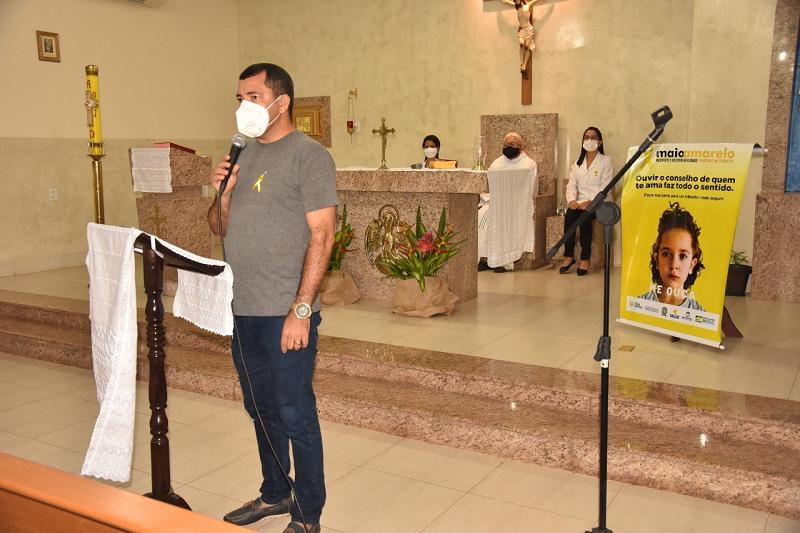 Prefeitura de Porto Nacional realiza missa em homenagem às vítimas de trânsito