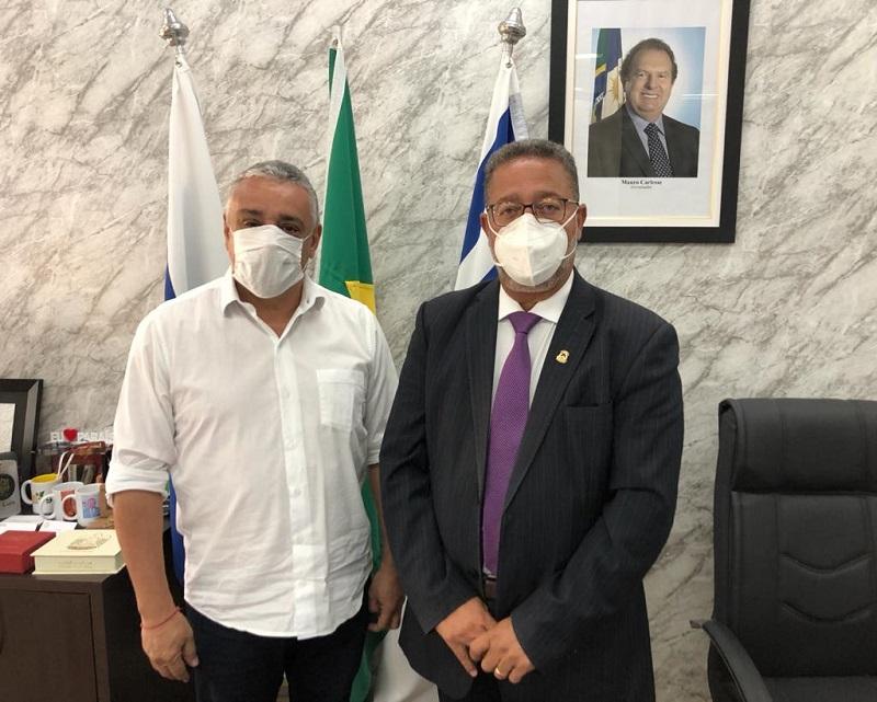 Prefeito de Lajeado busca apoio do Governo do Tocantins para discutir plano de desenvolvimento econômico do município