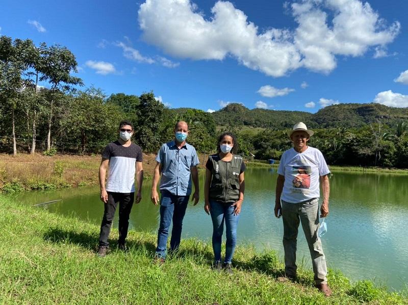 Parceria entre SENAR e produtores de peixe da região da Pedreira foi prolongada em Lajeado TO