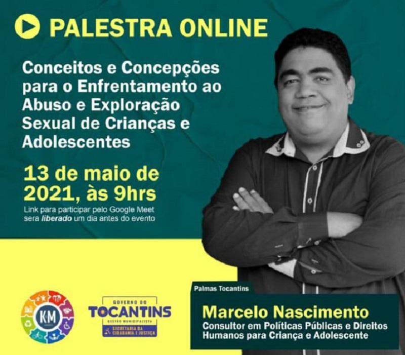Cidadania e Justiça promove palestra on-line sobre enfrentamento ao abuso e à exploração sexual de crianças e adolescentes