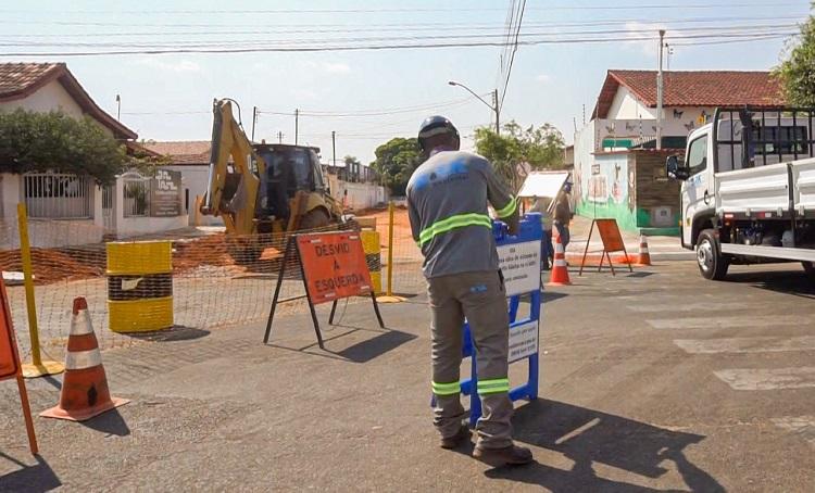 BRK Ambiental reforça importância de barreiras e equipamentos de proteção durante execução de serviços no Tocantins
