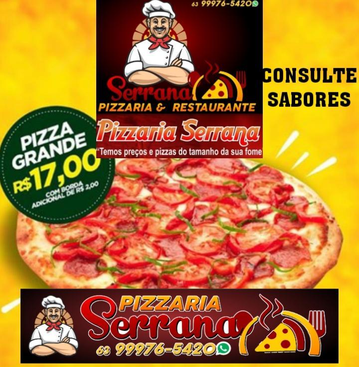 Pizza grande está saindo por apenas 17 reais na Serrana, em Paraíso