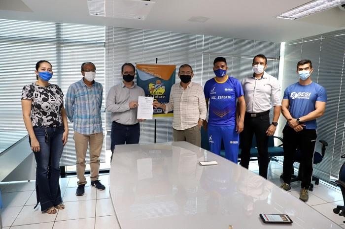 Prefeitura de Pium e SESI Tocantins firmam parceria para execução do programa Atleta do Futuro
