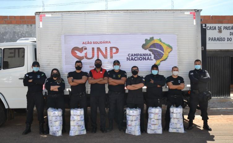 Seciju recebe doação de dois mil kits de higiene da Igreja Universal destinado a pessoas privadas de liberdade