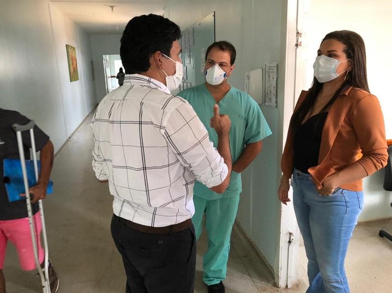 Prof. Júnior Geo fiscaliza Hospital Regional de Paraíso e parabeniza direção pela gestão responsável e resolutiva