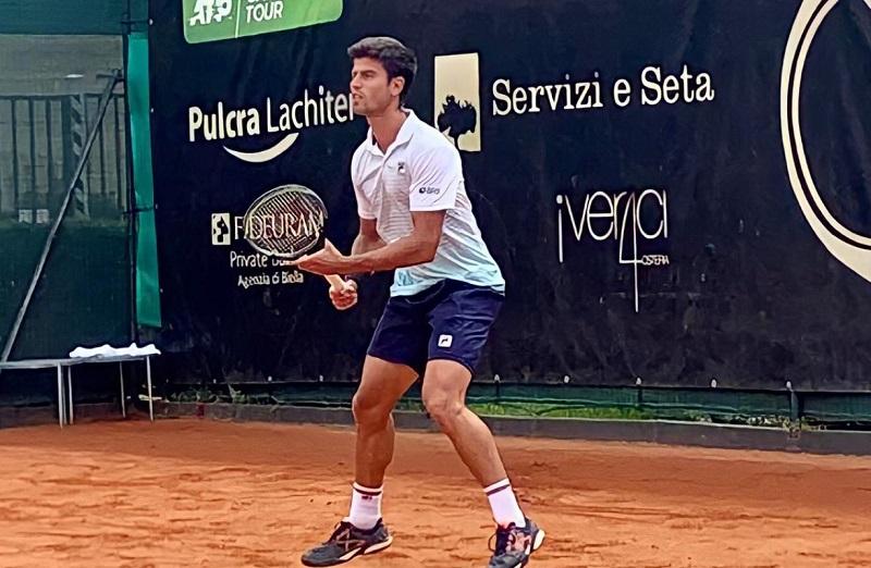 João Menezes fica nas oitavas de final no Cazaquistão e foca no quali de Wimbledon