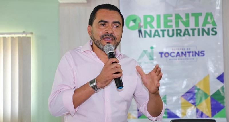 Vice-governador Wanderlei Barbosa lança Programa Orienta Naturatins em Araguatins