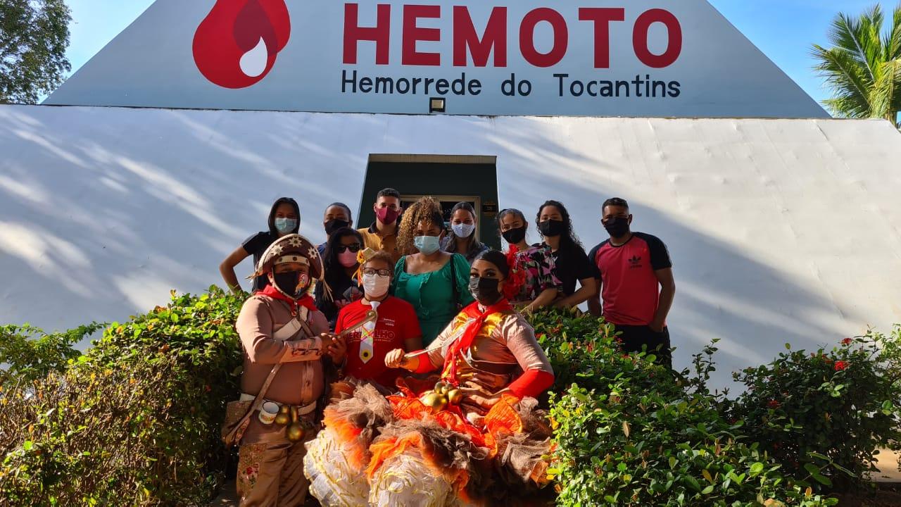 Hemocentro em parceria com quadrilheiros fomenta doação de sangue