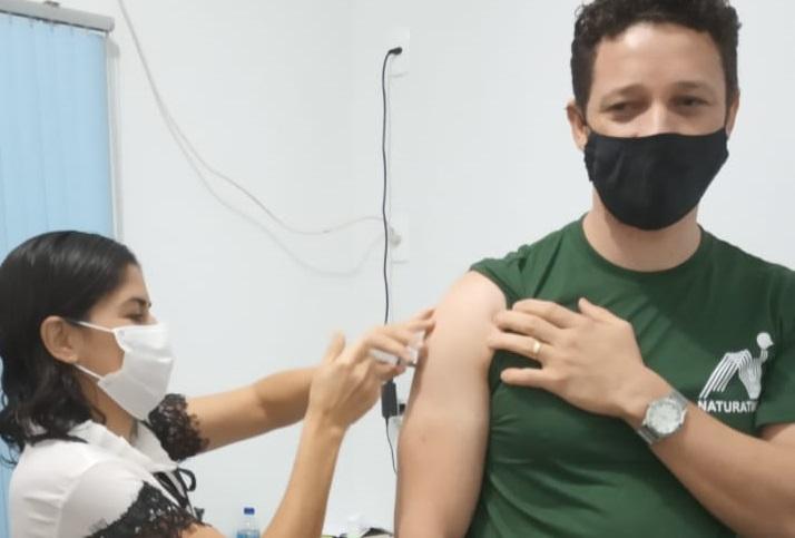 Servidores do Naturatins no Jalapão são vacinados contra covid-19