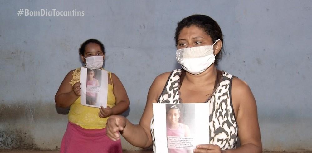 Mãe vai todos os dias a delegacia em busca de notícias da filha de 10 anos desaparecida em Palmas