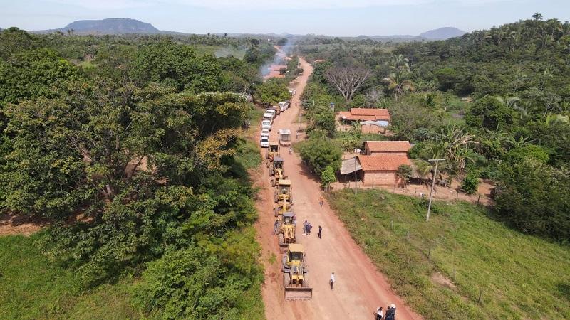 Mutirão de manutenção de rodovias do Bico do Papagaio deve ser concluídos em 15 dias