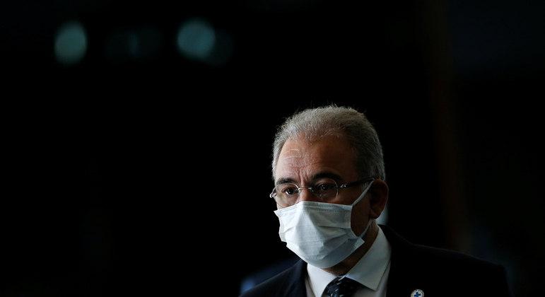 MS e TO são os estados que mais preocupam, diz ministro Queiroga