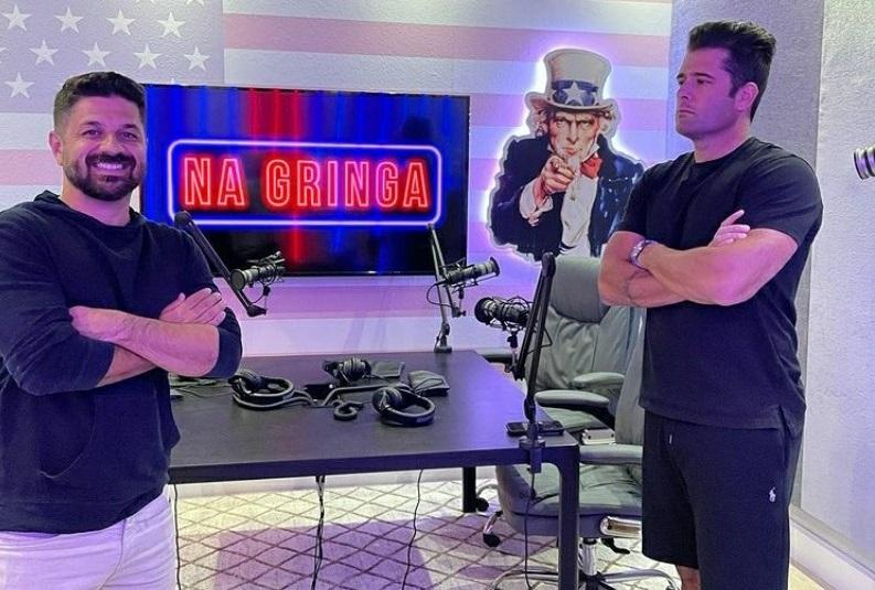 """Bruno Vaz faz sucesso com canal """"Na Gringa Podcast"""" no Youtube"""