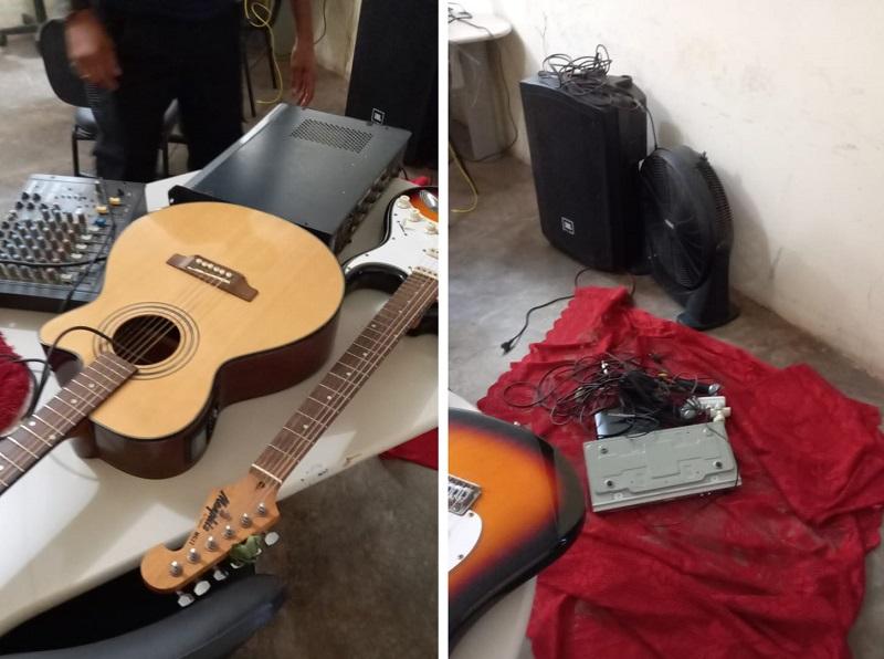 Polícia Civil desvenda furto à igreja, recupera objetos e prende autores do crime em Lizarda