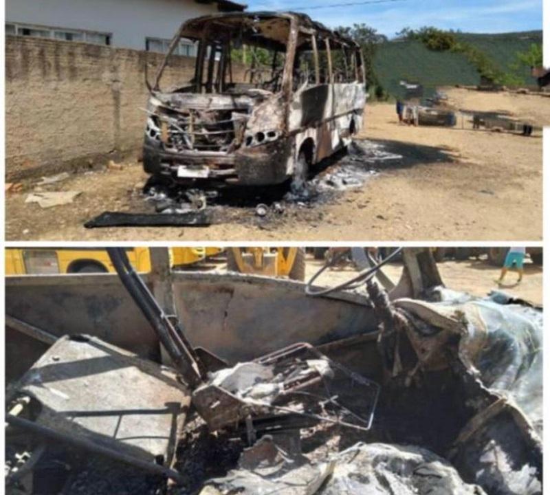 Polícia Civil prende dois suspeitos de atearem fogo em um ônibus da prefeitura de Lajeado