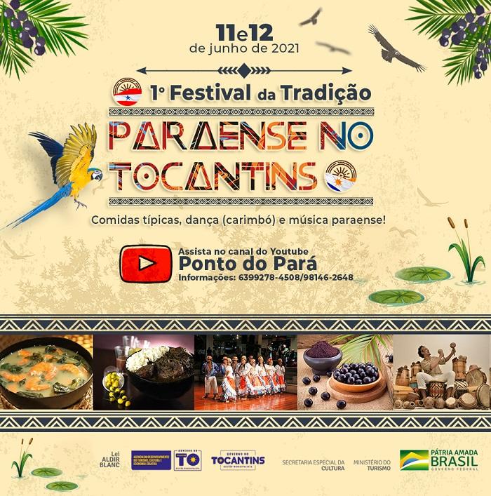 Com apoio da Adetuc, Festival da Tradição Paraense no Tocantins ocorre neste fim de semana