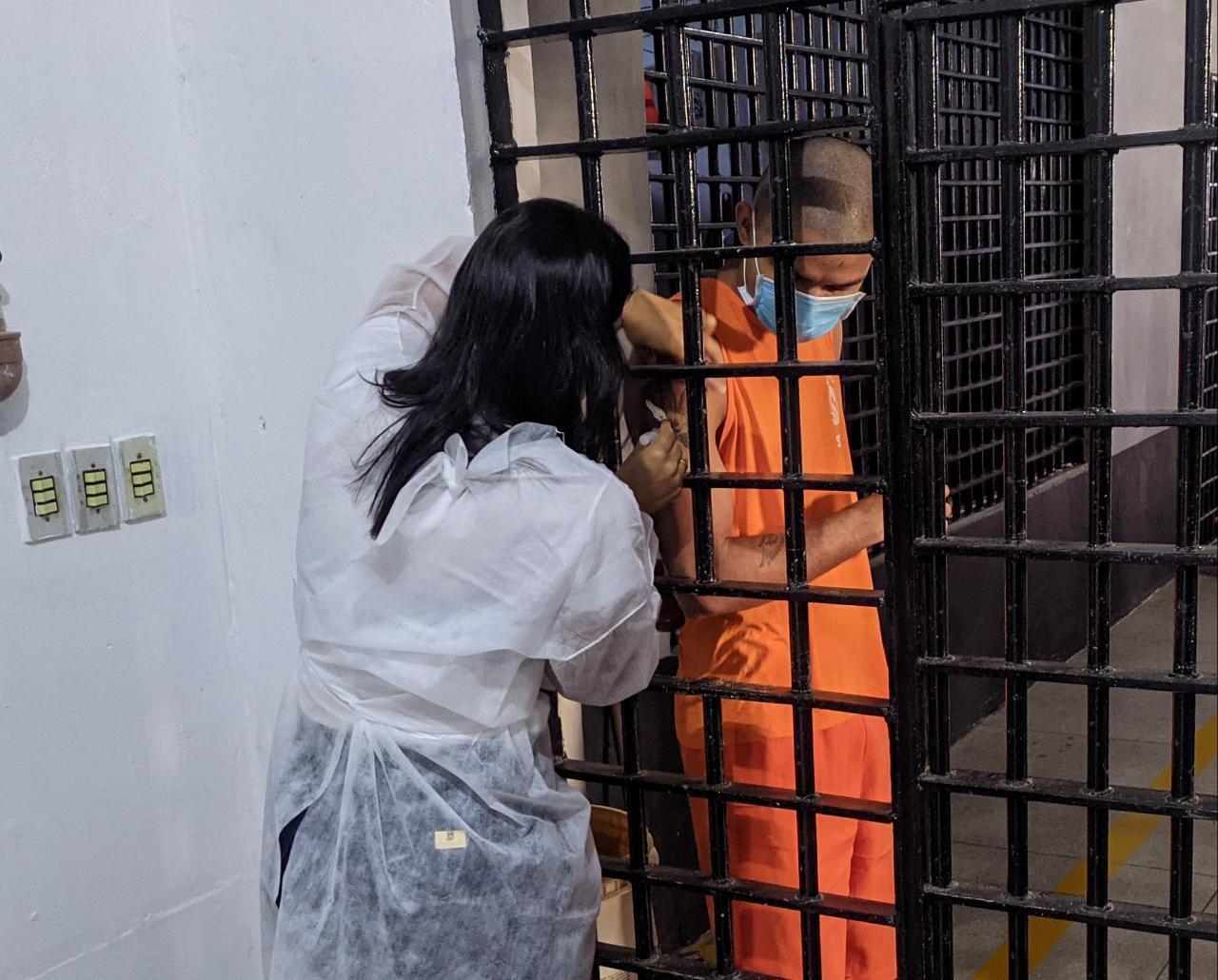 Sistema Penal do Tocantins inicia imunização de custodiados e servidores contra Influenza