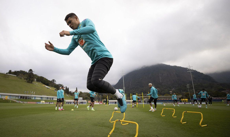 Após folga, seleção treina para enfrentar Colômbia na Copa América