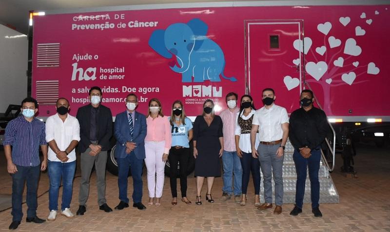 Antonio Andrade, deputados e vereadores fazem visita técnica ao Hospital de Amor do Tocantins