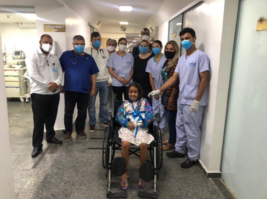 Quando a fé anda junto com a equipe médica